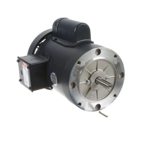 1 hp 2850 RPM 56C Frame TEFC No Base 110/220V 50hz. Leeson # 113914