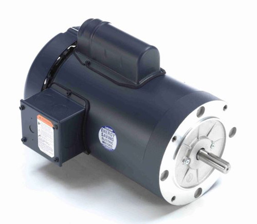 113915.00 Leeson |  1 1/2 hp 2850 RPM 56C Frame TEFC No Base 110/220V 50hz.