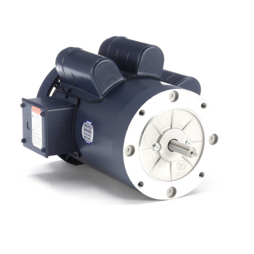 113925.00 Leeson |  1 1/2 hp 1425 RPM 56C Frame TEFC No Base 110/220V 50hz.
