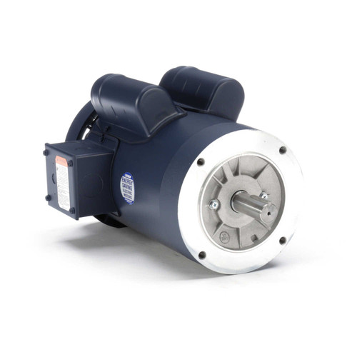 120990.00 Leeson |  2 hp 2850 RPM 145TC Frame TEFC No Base 110/220V 50hz.