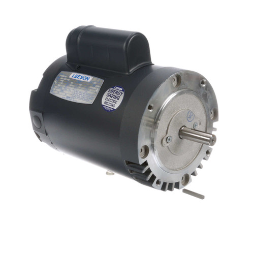 110288.00 Leeson |  1.5 hp 3450 RPM 56C 115/208-230V Well Pump Motor