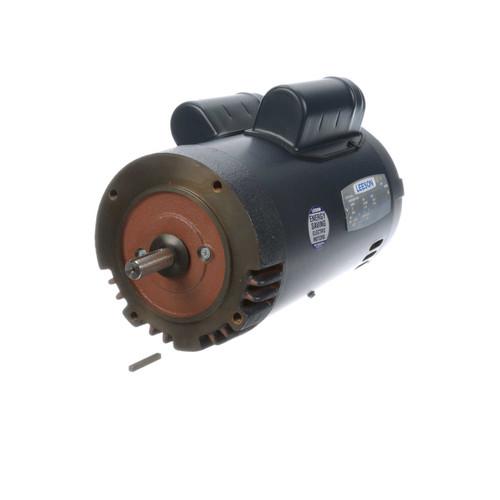 3 hp 3450 RPM 56C 230V Well Pump Motor Leeson # 117715