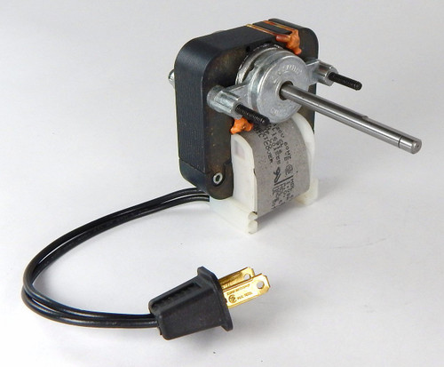 C01555 Century C-Frame Vent Fan Motor 1.08 amps 3000 RPM 120V # C01555 (CCW rotation)