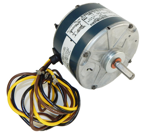 3S001 | Carrier Condenser Motor 5KCP39BGY915S 1/10 hp, 1100 RPM, 208-230V Genteq