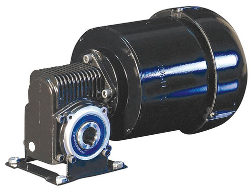 Dayton 3 Phase Hollow Shaft Right Angel Gear Motor 1/4 hp 160 RPM 230V # 6VEP3