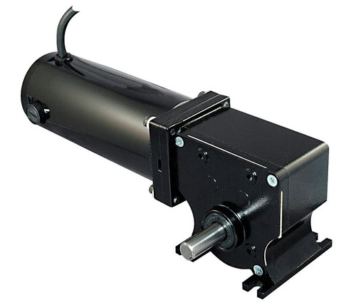 Dayton 12 Volt DC Right Angle Gear Motor 1/8 hp 150 RPM # 5LAF9