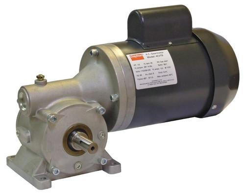4CVT9 Dayton Gear Motor 1/3 hp 30 RPM 115/208-230 Volt 60 HZ