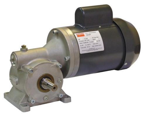 4CUK7 Dayton Gear Motor 1/3 hp 100 RPM 115/208-230 Volt 60 HZ