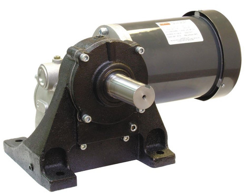 4NFT9 Dayton Washdown Parallel Shaft Gear Motor 1/20 hp 5 RPM 90 Volt DC