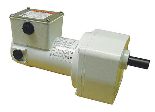 5CJC6 Dayton Washdown Parallel Shaft Gear Motor 1/4 hp 500 RPM 90 Volt DC