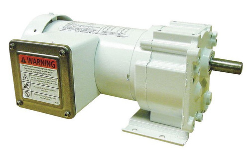5CJD3 Dayton Washdown Parallel Shaft Gear Motor 1/6 hp 40 RPM 115/230 Volts