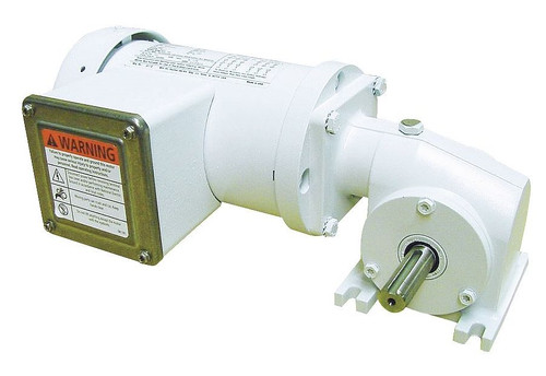 5CJD5 Dayton Washdown Right Angle Gear Motor 1/6 hp 43 RPM 115/230 Volts