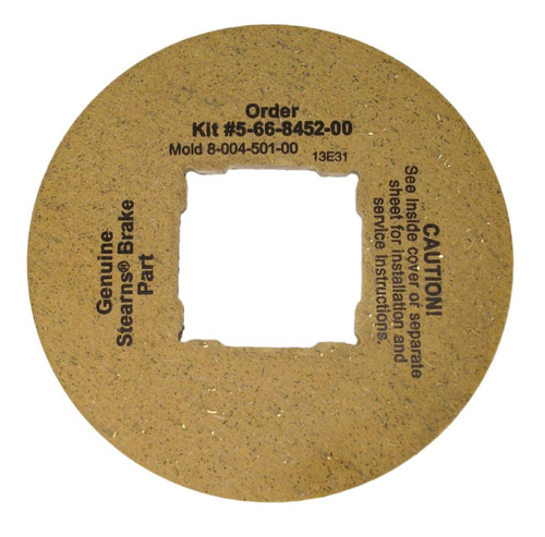 566845200 Stearns Brake Friction Disc (8-004-501-00)  # 5-66-8452-00