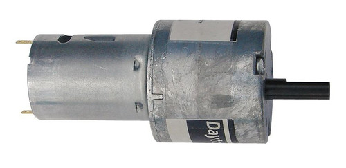 Dayton Miniature Parallel Shaft Gear Motor 90 RPM 12 Volt DC # 5VXV7