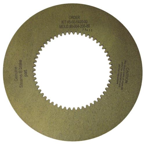 566842000 Stearns Brake Friction Disc (8-004-206-00)  # 5-66-8420-00