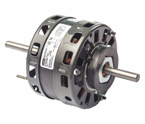 "Fasco D1011 Motor | 1/6 hp 1050 RPM 3-Speed 5"" Diameter 208-230 Volts (Fedders)"