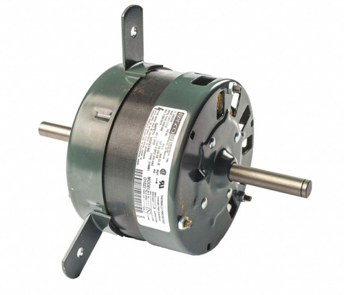 "Fasco D1022 Motor | 1/5 hp 1100 RPM 3-Speed CW 5"" Diameter 208-230 Volts"