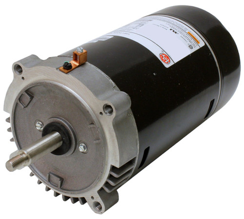 1 hp 3450 RPM 56J 115/230V Swimming Pool Pump Motor - US Electric Motor # AST125
