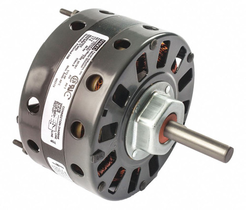 "Fasco D1054 Motor | 1/12 hp 1050 RPM 3-Speed 5"" Diameter 115 Volts (Honeywell)"