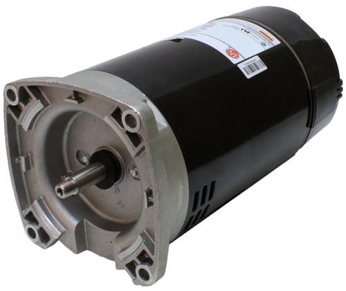 3/4 hp 2-Speed 56Y Frame 115V Square Flange Pool Motor US Electric Motor # EB981