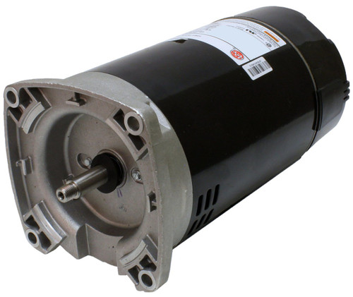 1 hp 2-Speed 56Y Frame 230V Square Flange Pool Motor US Electric Motor # ASB2982