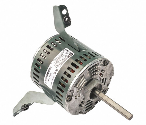 "Fasco D1080 Motor | 1/6 hp 1050 RPM CW 5.1"" Diameter 115 Volts (Duotherm)"