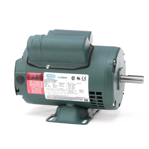 1/3 hp 1725 RPM 56 Frame 115/208-230V Open Drip Leeson Electric Motor # E100006