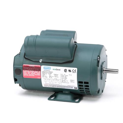 1/2 hp 1725 RPM 48 Frame 115/208-230V Open Drip Leeson Electric Motor # E100338