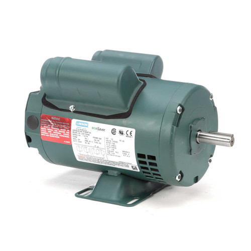 1/2 hp 1725 RPM 56 Frame 115/208-230V Open Drip Leeson Electric Motor # E100007