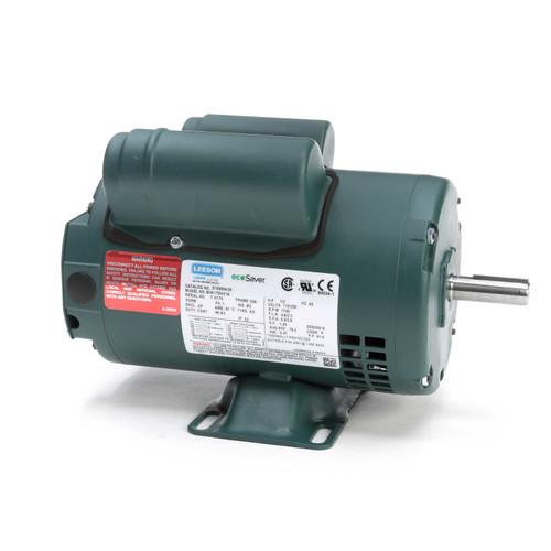E100004.00 Leeson |  1/2 hp 1725 RPM 56 Frame 115/208-230V Open Drip
