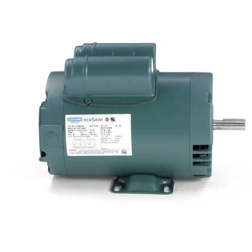 1/2 hp 1200 RPM 56 Frame 115/208-230V Open Drip Leeson Electric Motor # E110002