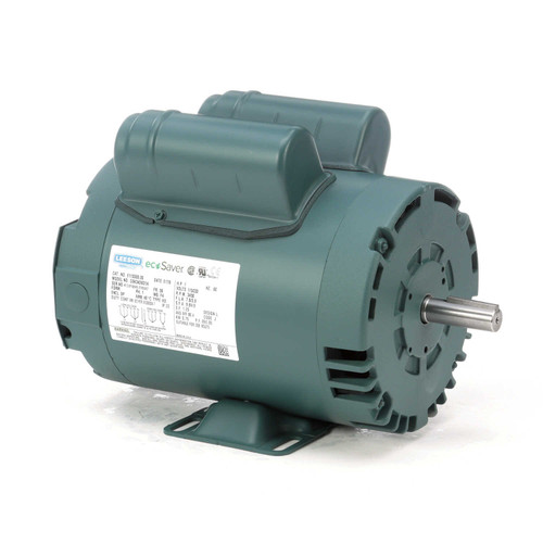 E110360.00 Leeson |  1 hp 3450 RPM 56 Frame 115/208-230 Volts Open Drip