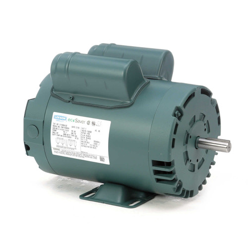 1 hp 1725 RPM 56 Frame 115/208-230V Open Drip Leeson Electric Motor # E110004