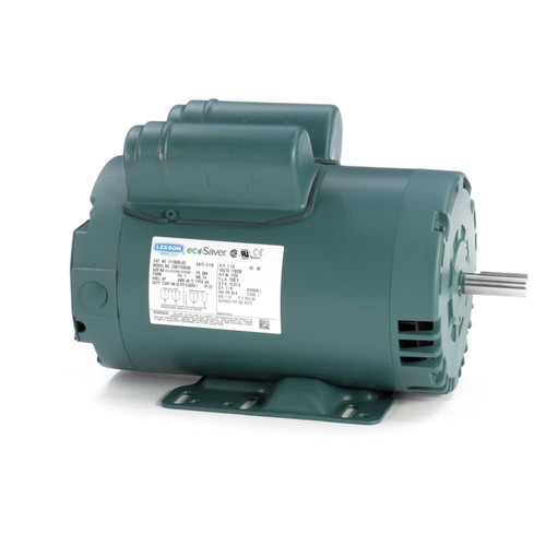 1.5 hp 1725 RPM 56H Frame 115/208-230V Open Drip Leeson Electric Motor # E110005