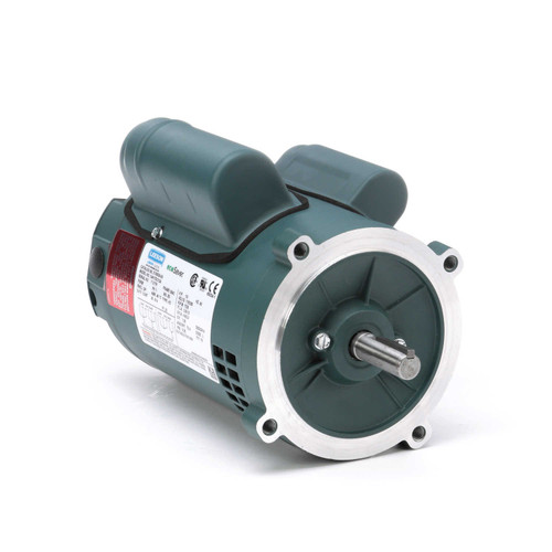 E100024.00 Leeson |  1/3 hp 1800 RPM 56C Frame ODP C-Face (no base) 115/230V