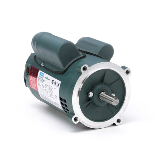 E100356.00 Leeson |  1/2 hp 3600 RPM 56C Frame ODP C-Face (no base) 115/230V