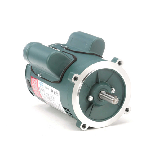 E100054.00 Leeson |  1/2 hp 3600 RPM 56C Frame ODP C-Face (no base) 115/230V