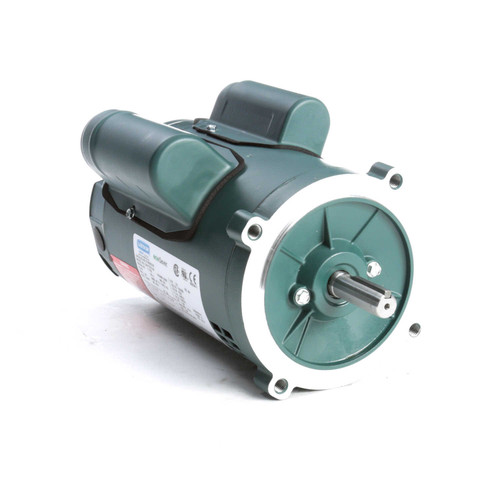 E100025.00 Leeson |  1/2 hp 1800 RPM 56C Frame ODP C-Face (no base) 115/230V