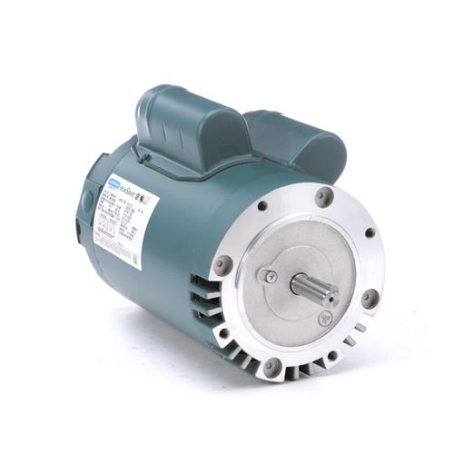 E110381.00 Leeson |  1/2 hp 1200 RPM 56C Frame ODP C-Face (no base) 115/230V
