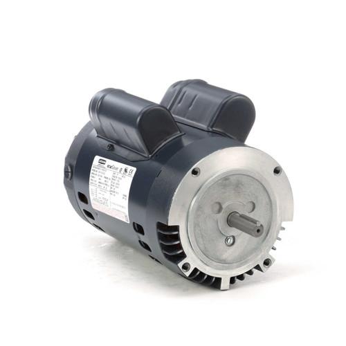 E119349.00 Leeson |  3/4 hp 1800 RPM 56C Frame ODP C-Face (no base) 115/230V