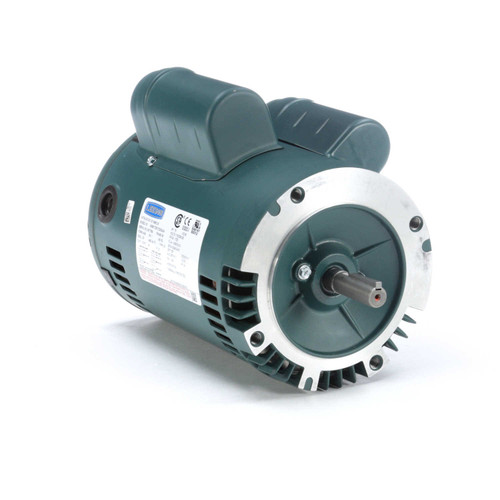E110382.00 Leeson |  3/4 hp 1200 RPM 56C Frame ODP C-Face (no base) 115/230V