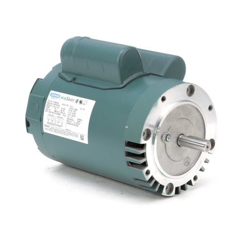 E110220.00 Leeson |  1 hp 1800 RPM 56C Frame ODP C-Face (no base) 115/230V