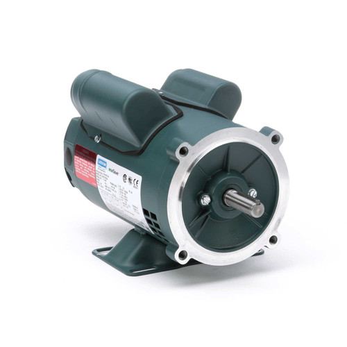 E101651.00 Leeson |  1/2 hp 1800 RPM 56C Frame ODP C-Face (rigid base) 115/230V