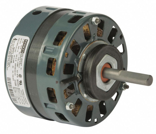 "Fasco D1089 Motor | 1/15 hp 850 RPM 5"" Diameter 115 Volts (Trane)"