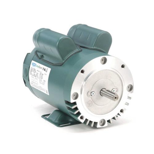 E113932.00 Leeson |  1.5 hp 1800 RPM 56HC Frame ODP C-Face (rigid base) 115/230V