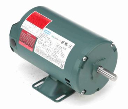 E101447.00 Leeson |  1/3 hp 3450 RPM 48 Frame 230/460 Volts Open Drip