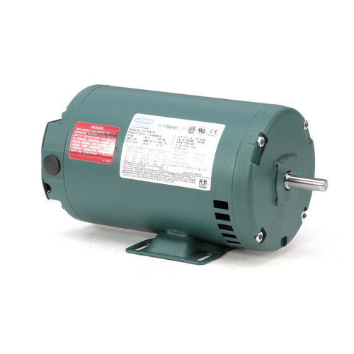 1/3 hp 1725 RPM 48 Frame 230/460V Open Drip Leeson Electric Motor # E100446