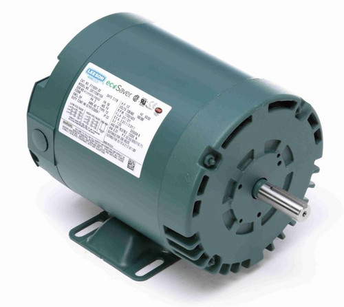 E119351.00 Leeson |  1/2 hp 1725 RPM 56 Frame 208-230/460 Volts Open Drip