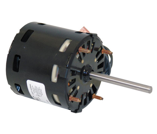 "Fasco D109 Motor | 1/15 hp 1600 RPM CW 3.3"" Diameter 115 Volts"