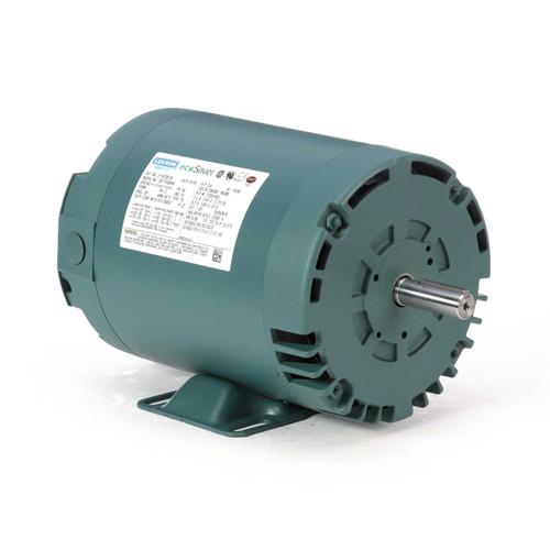 E116738.00 Leeson |  3/4 hp 1725 RPM 56 Frame 208-230/460 Volts Open Drip